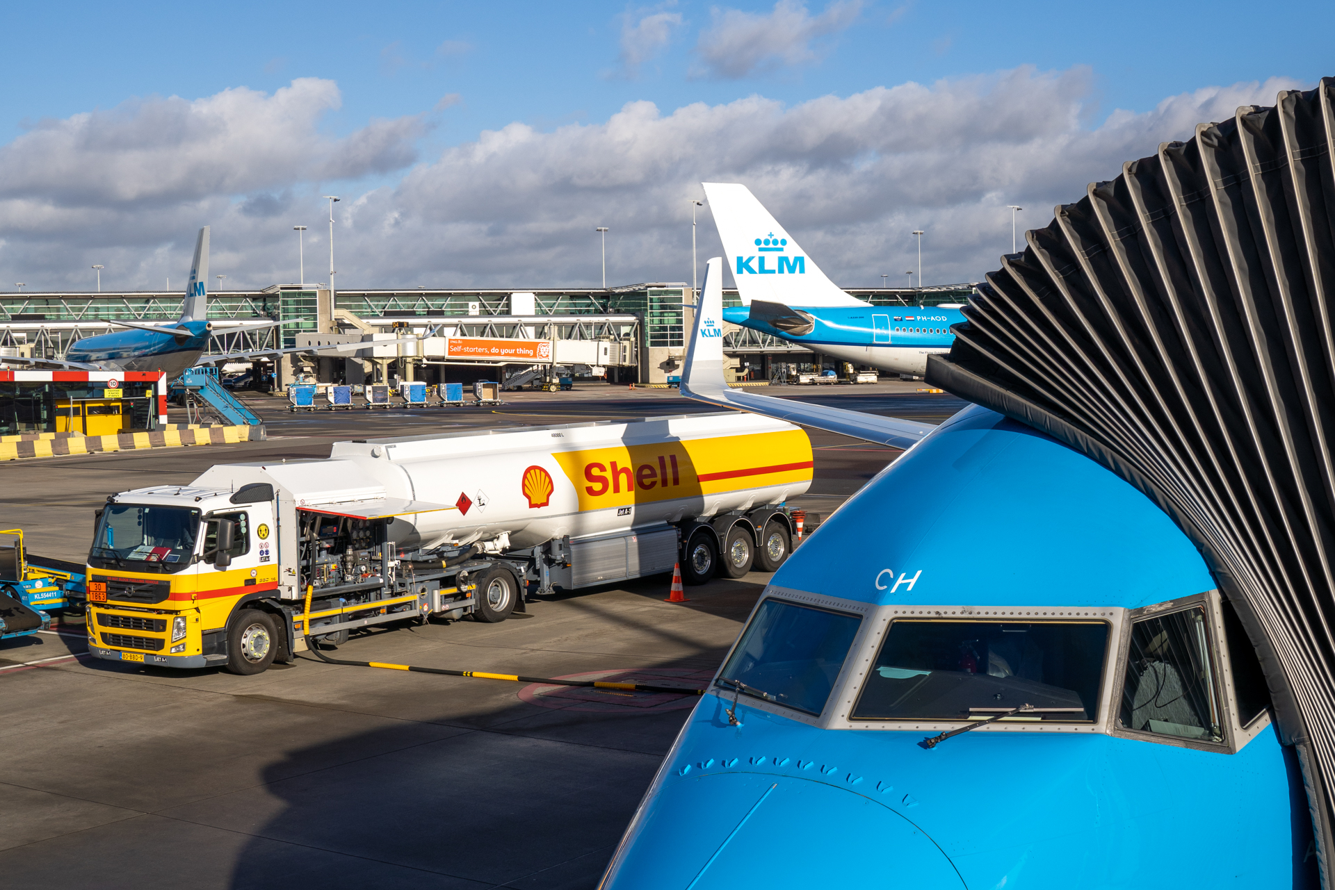klm shell